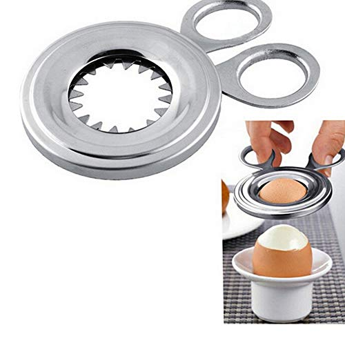 Yutang stainless steel egg cutter eggshell home kitchen accessories gadget tool