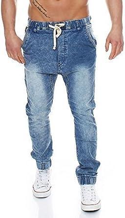 TMK Jeans Hombre Jogg – Pantalones Vaqueros Pantalones ...