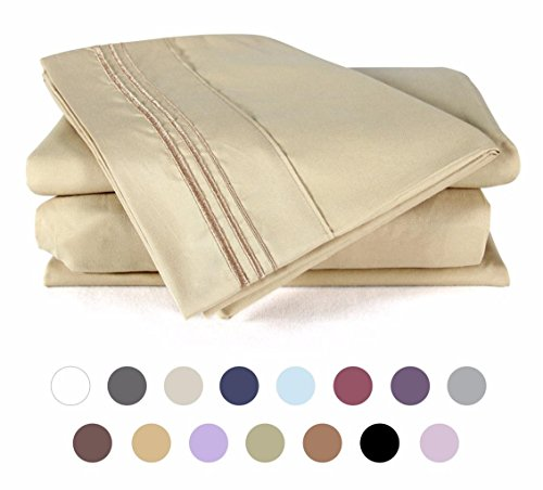 Bed Sheet Set , DUCK & GOOSE CO.100% Double Brushed Softest