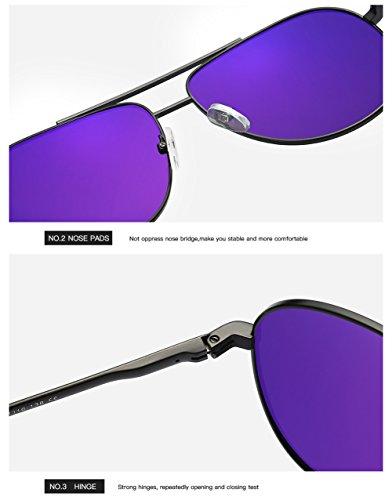 para 400 Polarizadas Mujer C1 Aviator UV Gafas para C1 Protección Sol De Hombre yWTqycaY