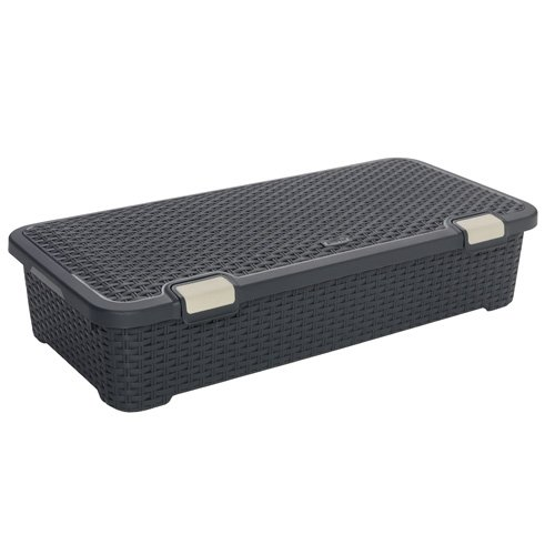 Curver 01704-308-00 Rollbox Style, 42 L, anthrazit