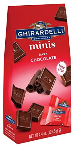 - Ghirardelli Minis Pouch, Dark Chocolate, 4.4 oz (Pack Of 6)