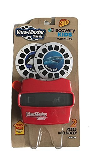 View Master Classic Viewer with 2 Reels Marine Life Toy Package May Vary