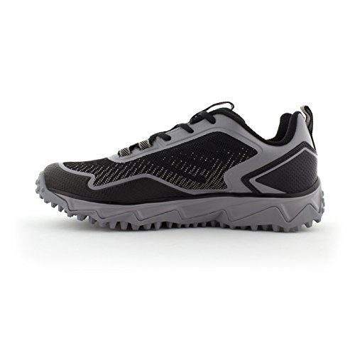 low shipping cheap price Boombah Men's Berzerk Turf Shoes - 13 Color Options - Multiple Sizes Black/Gray outlet limited edition discount cheapest price ofdH9jzD30