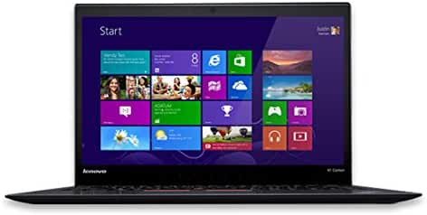 Lenovo ThinkPad X1 Carbon 20BS0032US 14-Inch Laptop (Black)