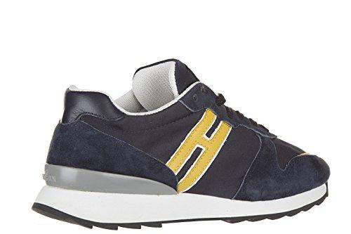 Hogan Rebel BabyschuheSneakers Kinder Baby Schuhe Turnschuhe Wildleder r261 blu