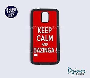 Galaxy Note 2 Case - Keep Calm Bazinga