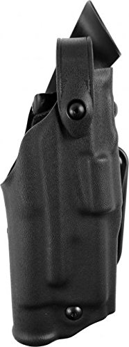 - Safariland 6367 ALS/SLS Belt Loop Holster with Hood Guard Glock 17, 22 Belt, Black, Right Hand