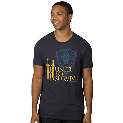 JINX Warcraft Movie Men's Unite to Survive Premium Cotton T-Shirt