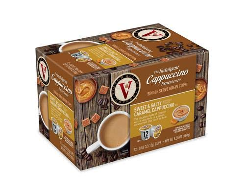 - Cappuccino, Sweet & Salty Caramel Special Edition Single Serve 48-Count