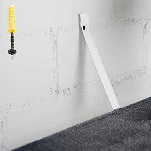 TecTake Arbre à chat griffoir grattoir geant | avec hamac et tunnel | hauteur 141 cm - diverses couleurs au choix - (Gris Blanc | No. 402276)
