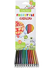 Little Tree 12 Prismacolor Colored Pencils for Children, Erasable Premier Colored Pencils for adults at Office, Painting, Art,School, Gift for Child