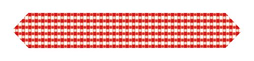 Gingham Table Runner (Beistle 54938 Printed Gingham Table Runner, 11