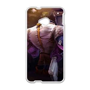 HTC One M7 Cell Phone Case White League of Legends Mundo Mundo Jsbqr