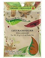Splendor Garden Organic Cajun Blackening rub, 35 Grams