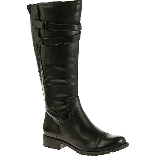 Hush Puppies Madison 16 Boot Black Waterproof Leather
