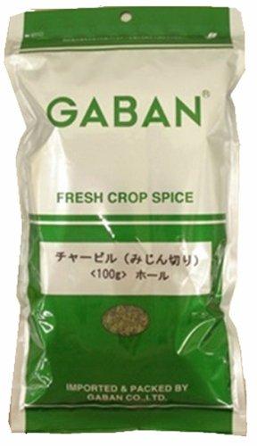 Gabin chervil (chopped) 100g bag by GABAN (Gabin)