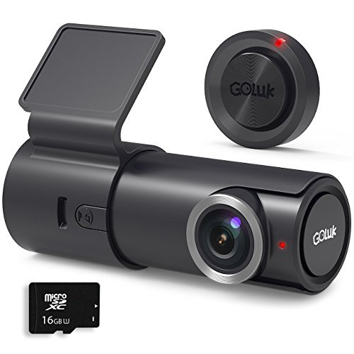 Post Time Signs - Goluk T2 FHD 1080P 152° WDR Car Dash Cam with G-sensor for Real Time Video Sharing, Motion Detection, Traffic Accident Disputes, Parking Monitor Loop Recording