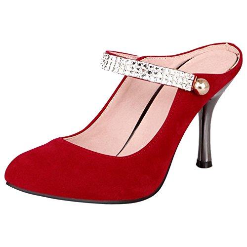 CarziCuzin Women Pumps Comfort Stiletto Mules Pumps Women Parent B07B3ZN7PZ 6bad26