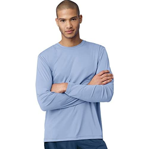 cheap Hanes Cool DRI Performance Men's Long-Sleeve T-Shirt