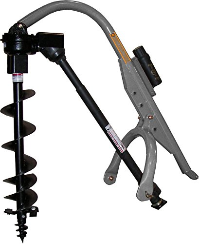 Dirty Hand Tools | 100623 | Model 90 Three-Point Hitch Post Hole Digger | Compatible with Category 0 - 1 Tractors | For Compact 6, 9 and 12 Inch Augers