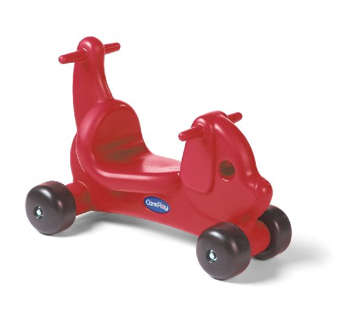 UPC 183317000014, Careplay Ride-On Play Puppy Critter, Red