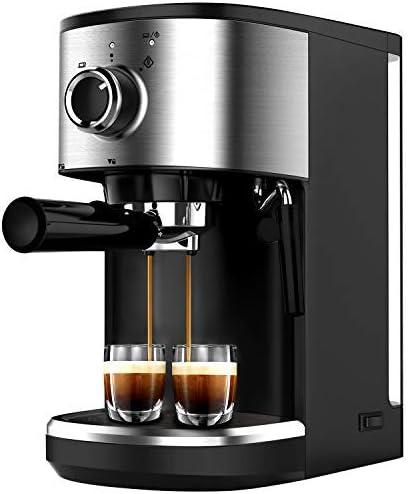 Machiato Latte Bonsenkitchen Espresso Machine 15 Bar Coffee Machine with Foaming Milk Wand Cappuccino 1450W High Performance 1.25 L Removable Water Tank Coffee Maker for Espresso