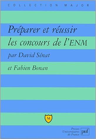 En ligne téléchargement Préparer et Réussie les concours ENM pdf ebook