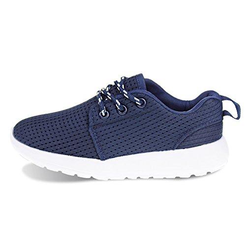 Hawkwell Calzado Deportivo Running Zapatos Ligero y Transpirables para Unisex Niños Azul