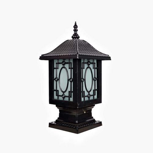 Contemporary Outdoor Column Mount Lighting in US - 7