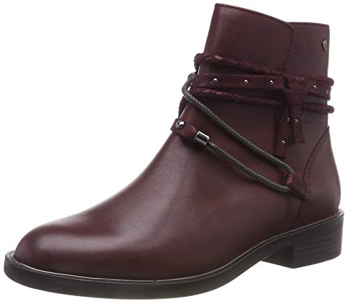 Boots 31 549 Tamaris Ankle 25060 bordeaux Red Women's AwwIOqz
