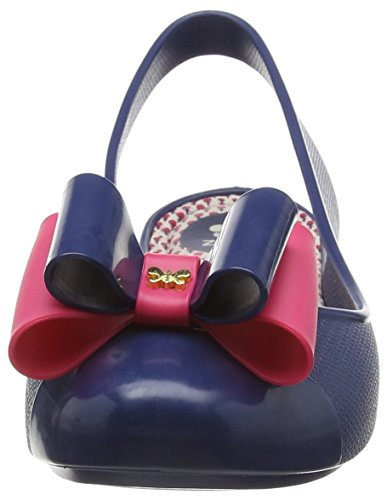 Zaxy Blue Flats Women's Navy Bow Ballet Gift rwqOBRUr