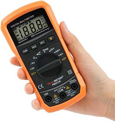 Tyannan デジタルディスプレイマルチメータハンドヘルド高精度自動範囲温度ユニバーサルメータ、8233E