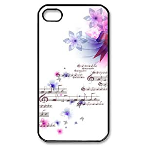 SYYCH Phone case Of Dynamic Music 2 Cover Case For Iphone 4/4s