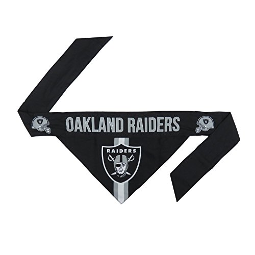 NFL Oakland Raiders Pet Bandanna, Medium]()