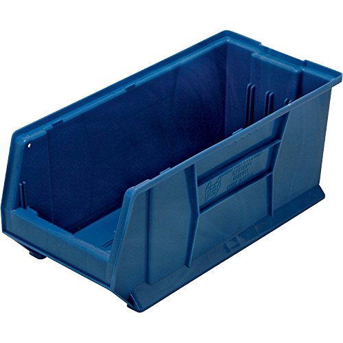 Container Hulk Dividers (Quantum Storage Systems K-QUS953BL-1 Plastic Storage Stacking Hulk Container, 24