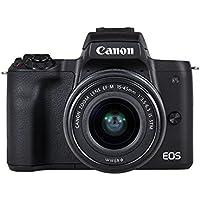 Canon EOS M50 BK M18-150mm Fotoğraf Makinesi, 4K, Siyah, 2 Yıl Canon Eurasia Garantili