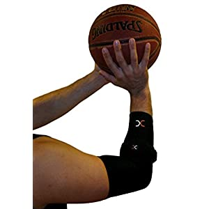 Best Compression Comfort Tennis Elbow System Includes: (1) Copper Compression Elbow Sleeve and (1) Tennis Elbow Brace. Forearm brace, strap with pad. Small