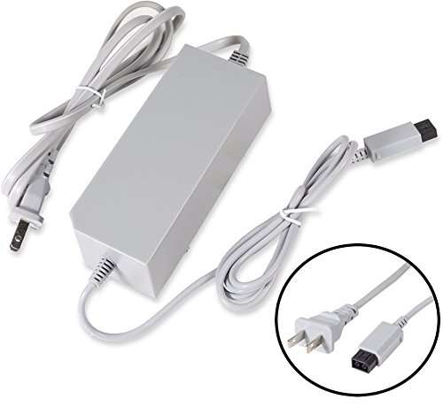 - PerriRock AC Wall Power Supply Cable Cord Replacement for Nintendo Wii
