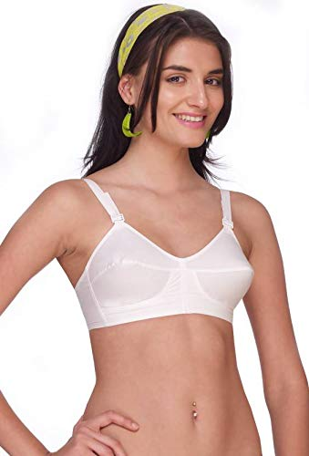 Jassi Collection Cotton Bra for Women and Girls. Best fit for All and  Durable Products with Best Comfort and Grip 1 pcs and Comfort f5edbd63a