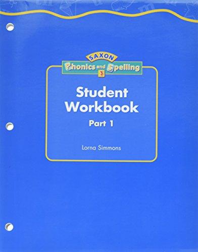 Saxon: Phonics & Spelling 3, Workbook Materials