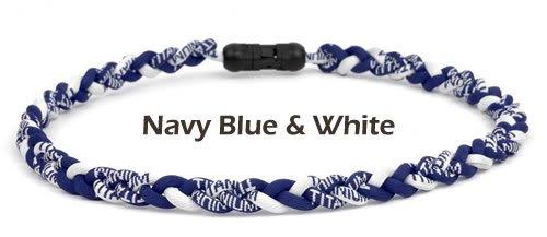 - Brett Bros Ionic Necklace - Navy/White - Medium