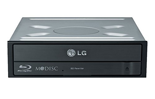 LG Electronics BH16NS40 16X SATA Blu-Ray Internal Rewriter with 3D Playback and M-DISC Support Optical Drive BH16NS40 (Renewed)