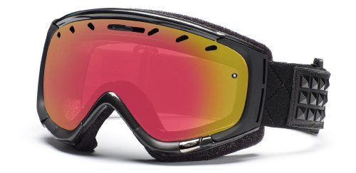 Smith Optics Phase Goggle (Gunmetal Warrior, Red Sensor Mirror), Outdoor Stuffs