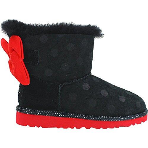UGG Kids Girl's Sweetie Bow (Big Kid) Black Boot 5 Big Kid M by UGG