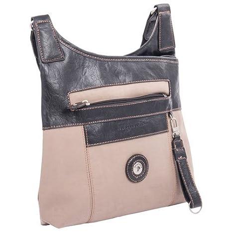 Mouflon Feathers Crossbody Bag - Taupe Black  Amazon.ca  Luggage   Bags 96786c2bba12a