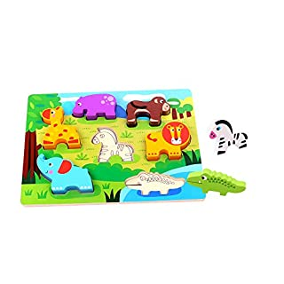 Tooky Toy Animal Chunky Puzzle