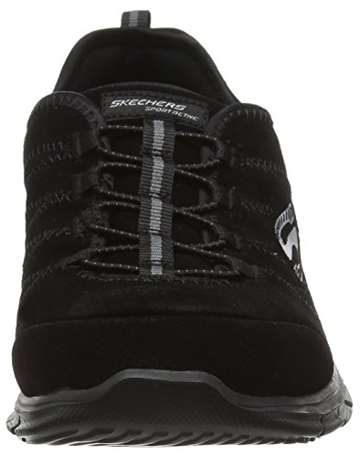 Skechers Glider 99999991, Zapatillas, Mujer Negro (Black)