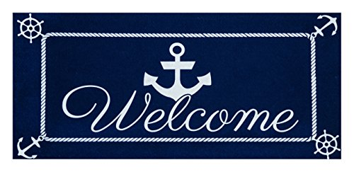 Evergreen Anchor Welcome Sassafras Switch - Mat Aboard Welcome