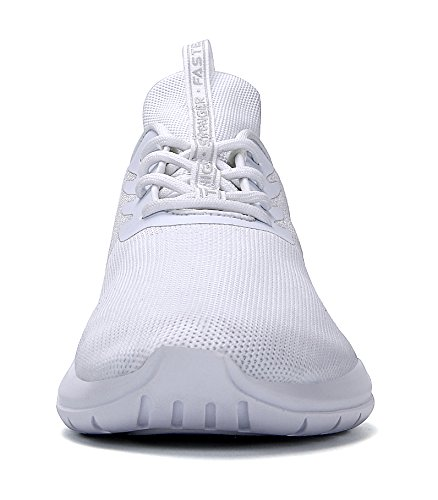 Casual Sneakers Moda e Soulsfeng Sportive Leggero da Corsa Bianco da Atletica Scarpe Traspirante Uomo Scarpe Donna Unisex IwRxxt4X